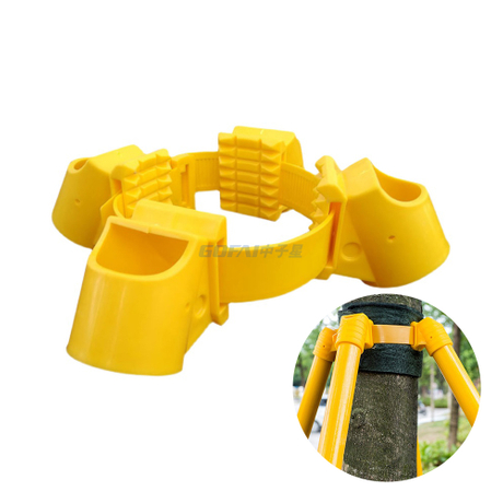 Gardening TPR Tree Fixation Support Bracket Plant Windbreak Protection Binding Holder Fastening Belt Support Kit