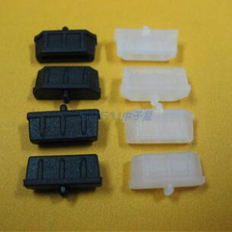 Silicone Rubber Dust Cap And Dust Plugs for HDMI Port End Caps