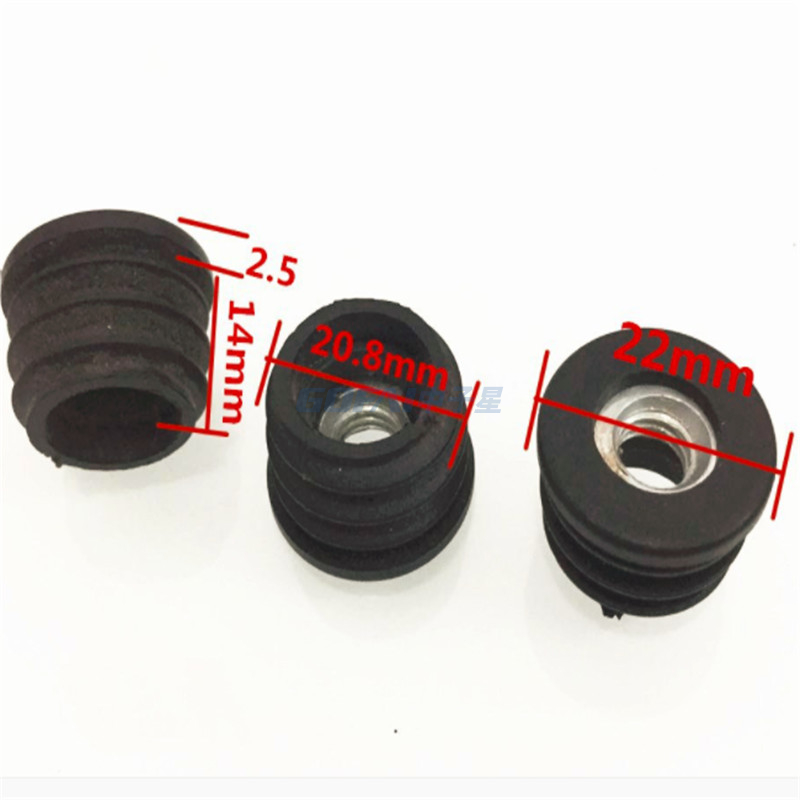Rubber Silicone Plastic Furniture Push in Feet Adjustable Leveler