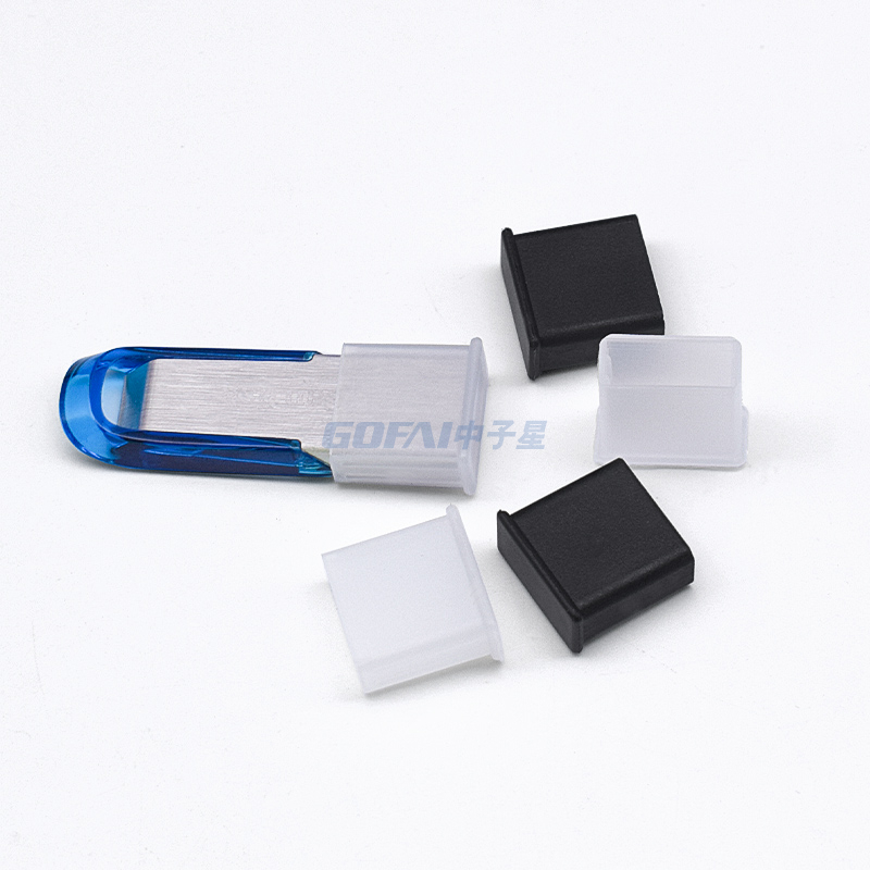 Rubber USB Type A Male Port Dust Cover